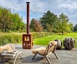 Quaruba Outdoor Wood Stove