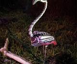 Zombie Lawn Flamingo