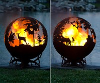 Forest Fire Pit