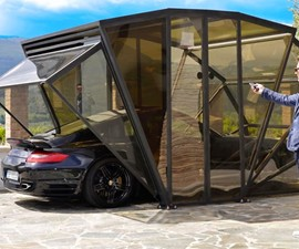 GazeBox Retractable Garage