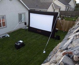 Gemmy Airblown 12' Movie Screen