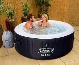 Lay-Z-Spa Miami 4-Person Inflatable Hot Tub
