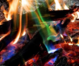 Mystical Fire Campfire Colorant