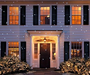 LED Snow Flurry Projection Light