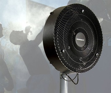 Portable Hoseless Misting Fan