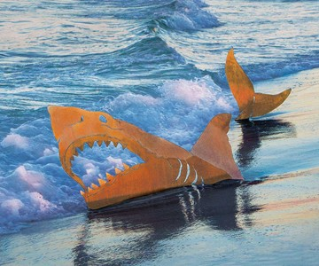 Land Shark Sculpture