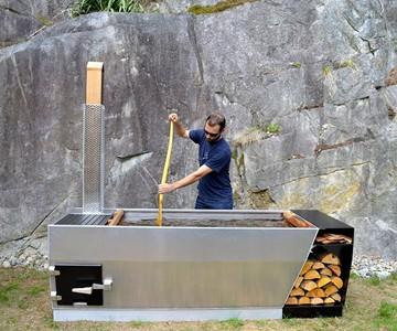 SOAK Wood-Fired Hot Tub