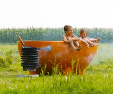 The Dutch Tub - Wood Fired Hot Tub