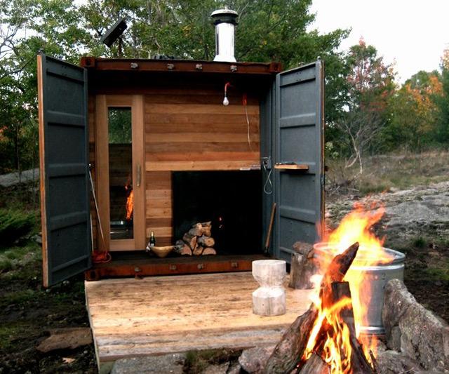 sauna box. Black Bedroom Furniture Sets. Home Design Ideas