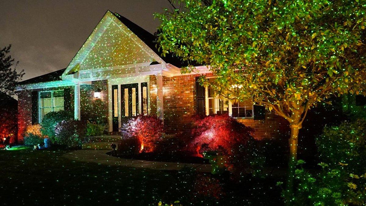 Star Shower Outdoor Laser Christmas Lights