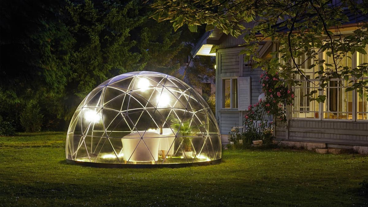 The Garden Igloo Dudeiwantthat Com
