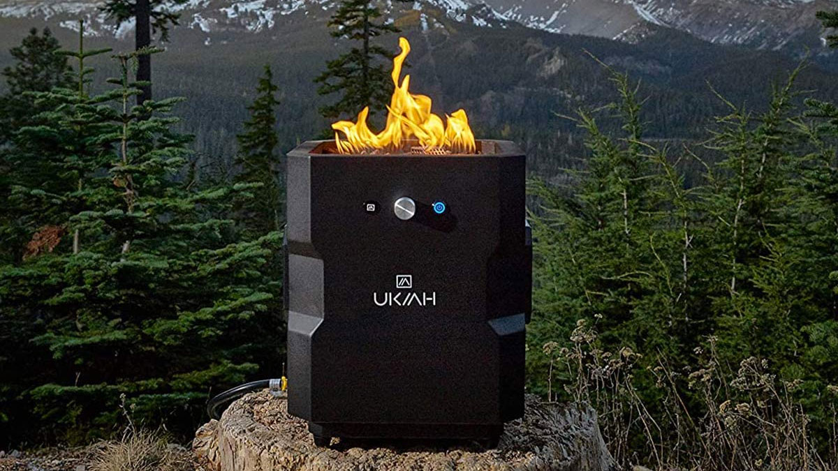 UKIAH Tailgater Music Fire Pit Table