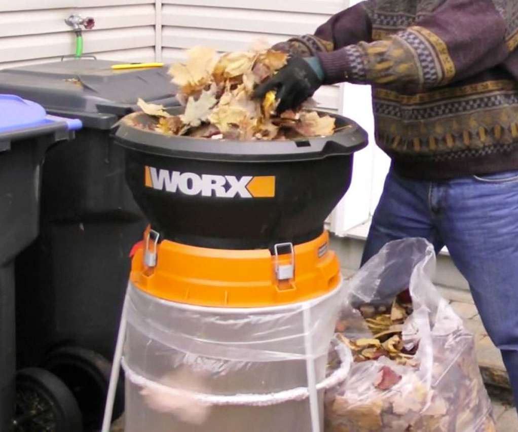Ultimate Guide To Fall Winter Gardening: WORX Electric Leaf Mulcher