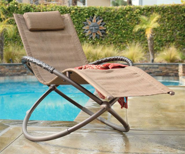 Zero Gravity Patio Lounger