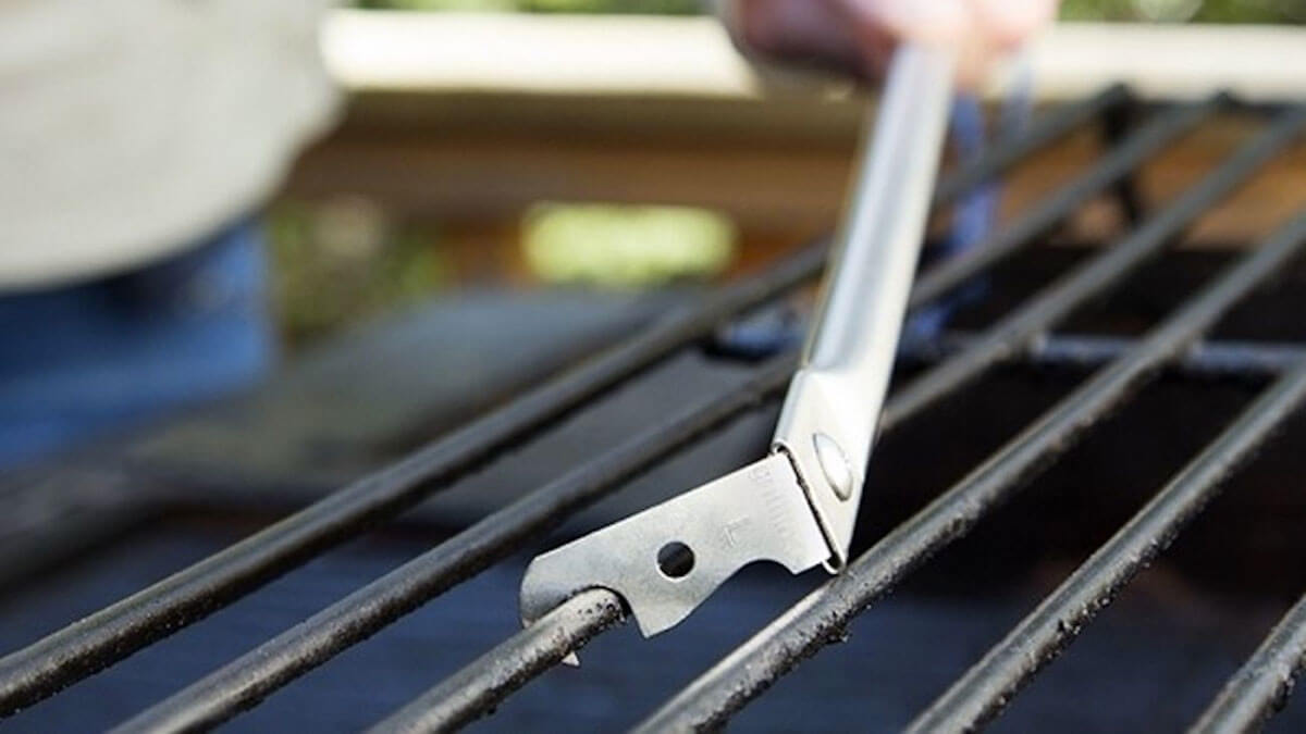 GrillFloss BBQ Grill Cleaning Tool
