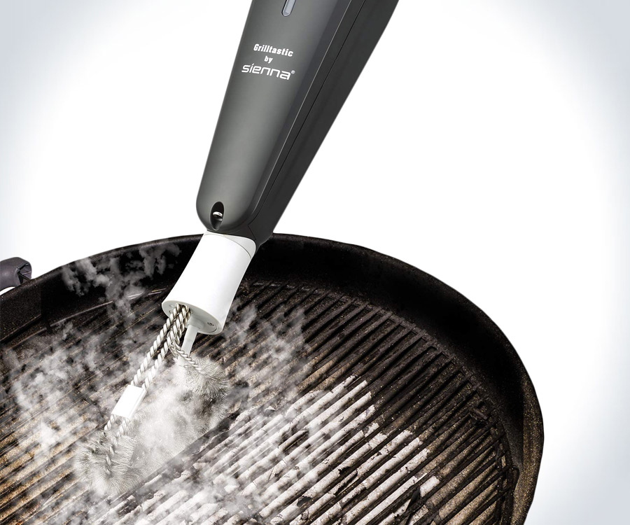 Grilltastic Steam Cleaning BBQ Grill Brush