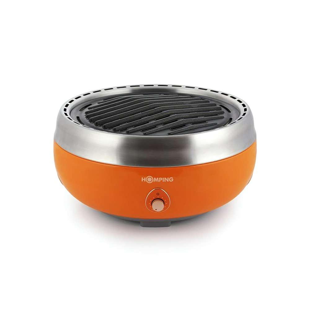 Homping Portable Charcoal Grill Dudeiwantthat Com