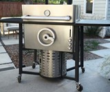 Ferno Adjustable Flame Gas Grill
