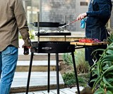 KUDU Grill - Open Fire Outdoor BBQ Grilling System