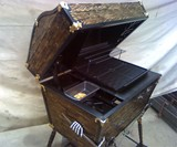 Pirate Treasure Chest BBQ