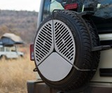 Spare Tire BBQ Grill