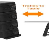 STCKBLS Stackable & Expandable BBQ Grill System