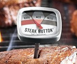 Steak Button Thermometer - Closeup