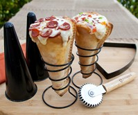 Grilled Pizza Cone Set