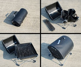 GoBQ Roll-up Grill