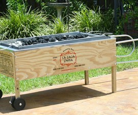 La Caja China #2 Roasting Box