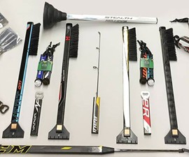Recycled Hockey Stick BBQ Tools