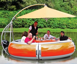 The Barbecue Dining Boat