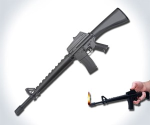 M16 Rifle BBQ Lighter