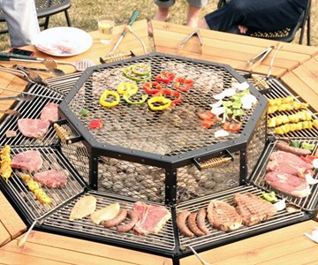 Jag Communal Grill Table Dudeiwantthat Com