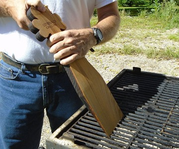All Natural Wood Grill Scraper