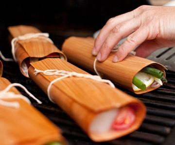 Gourmet Cedar Cooking Wraps