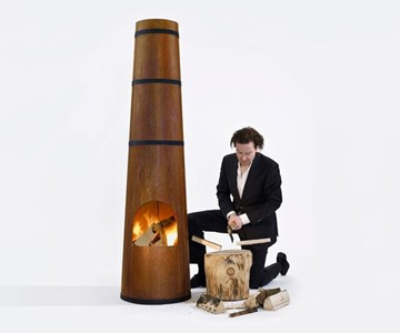 Smokestack Outdoor Fire Pit