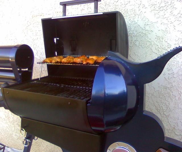 Colt .45 BBQ Grill