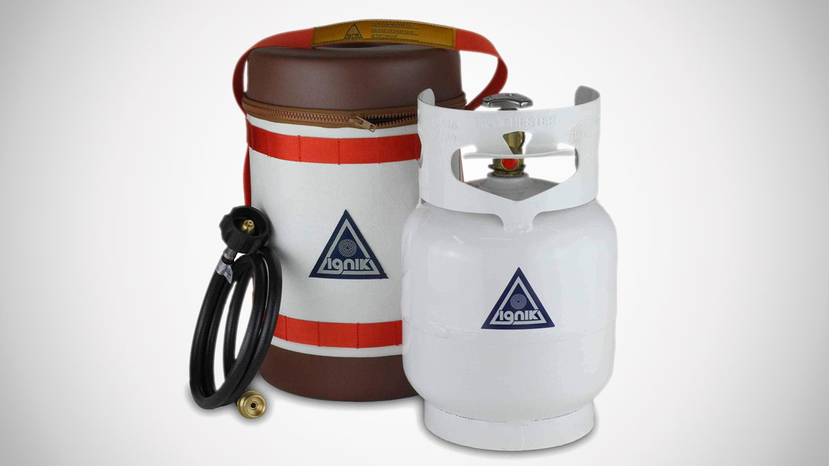 Ignik Gas Growler - Refillable Propane Tank