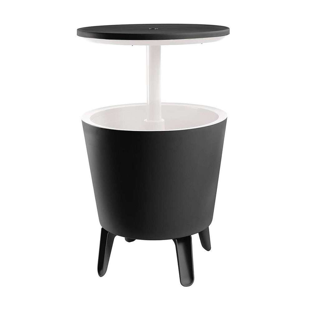 The Cool Bar is a cooler, cocktail table and coffee table all in 1; your ultimate 3-in-1 backyard, garden and patio accessory. It's designed with an extendable tabletop, transforming from a contemporary coffee table into a sleek cocktail table in 1 simple twist/5(64).