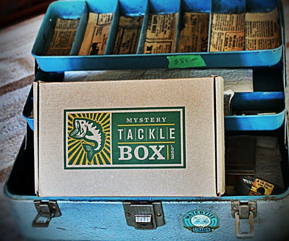 Mystery tackle box monthly subscription for Fishing box subscription