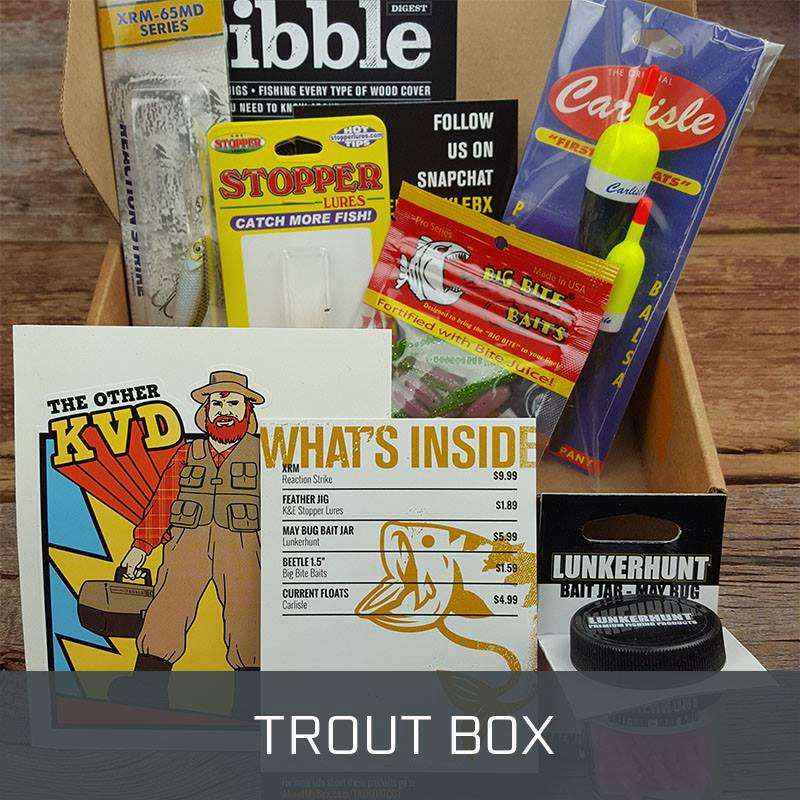 Mystery Tackle Box Monthly Subscription Dudeiwantthat Com