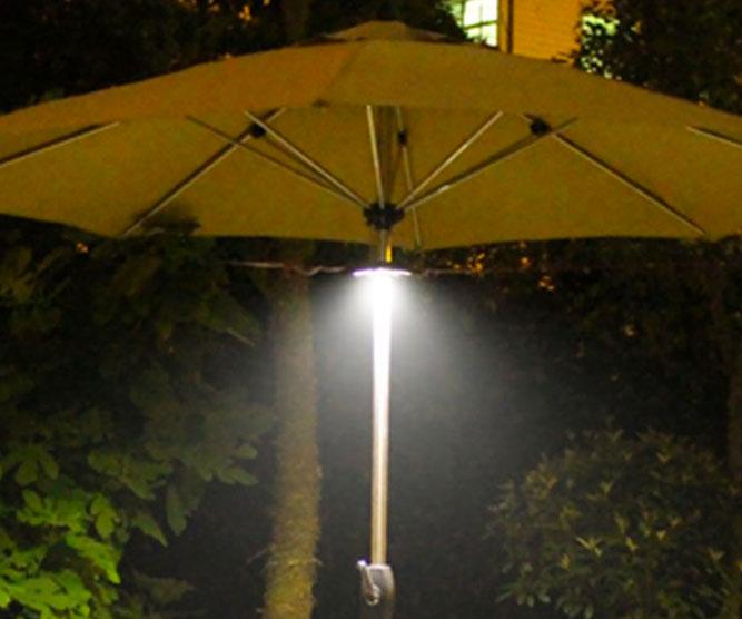 Rechargeable Patio Umbrella Light