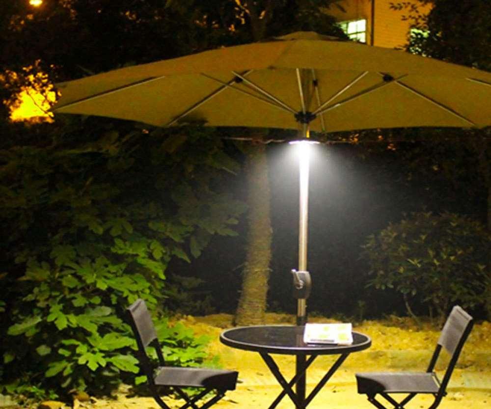 Rechargeable Patio Umbrella Light Dudeiwantthat Com