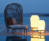 Dedon Rilly Collection Cocoon Chair