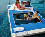 Floating Deck with Hammock