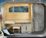 The Wellness Capsule Modular Outdoor Sauna