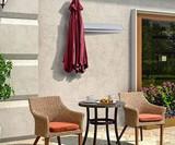 Wall-Mounted Patio Umbrella