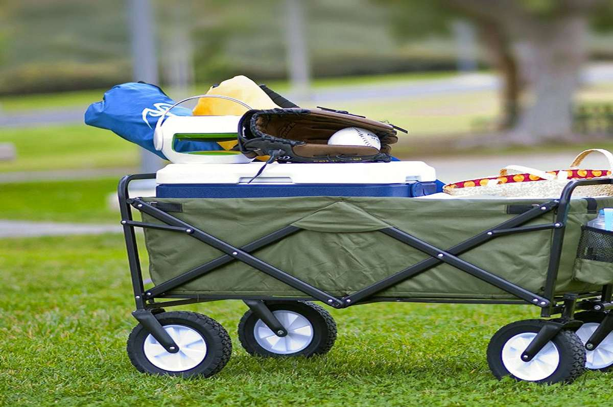 Collapsible Folding Utility Wagon Dudeiwantthat Com
