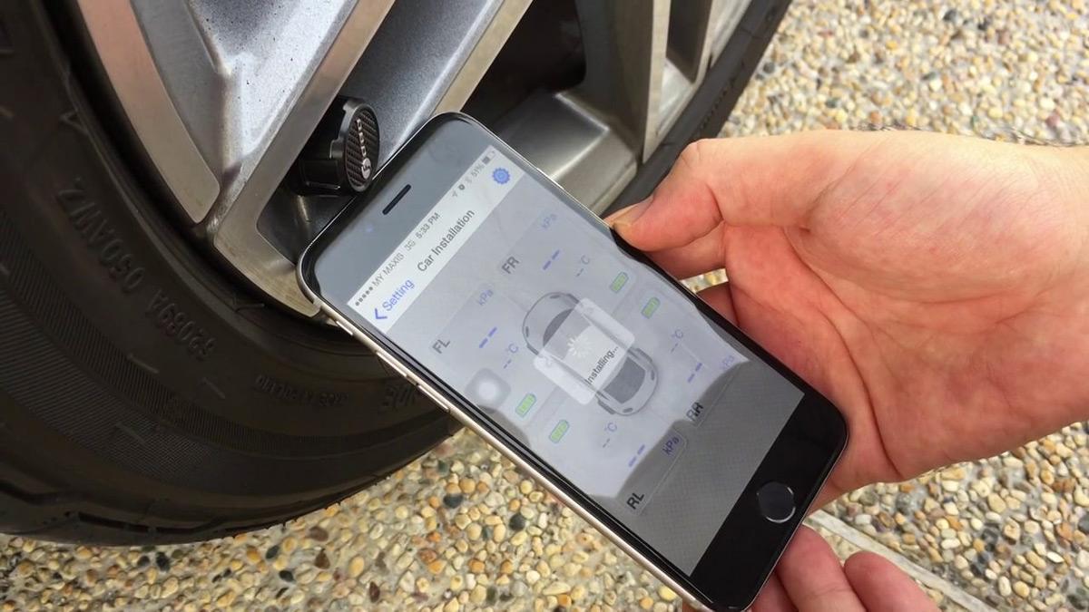 FOBO Smart Tire Pressure Monitor